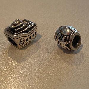 Pandora Boat & Shell Beads